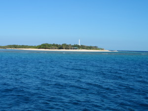 Apo reef with lighthouse